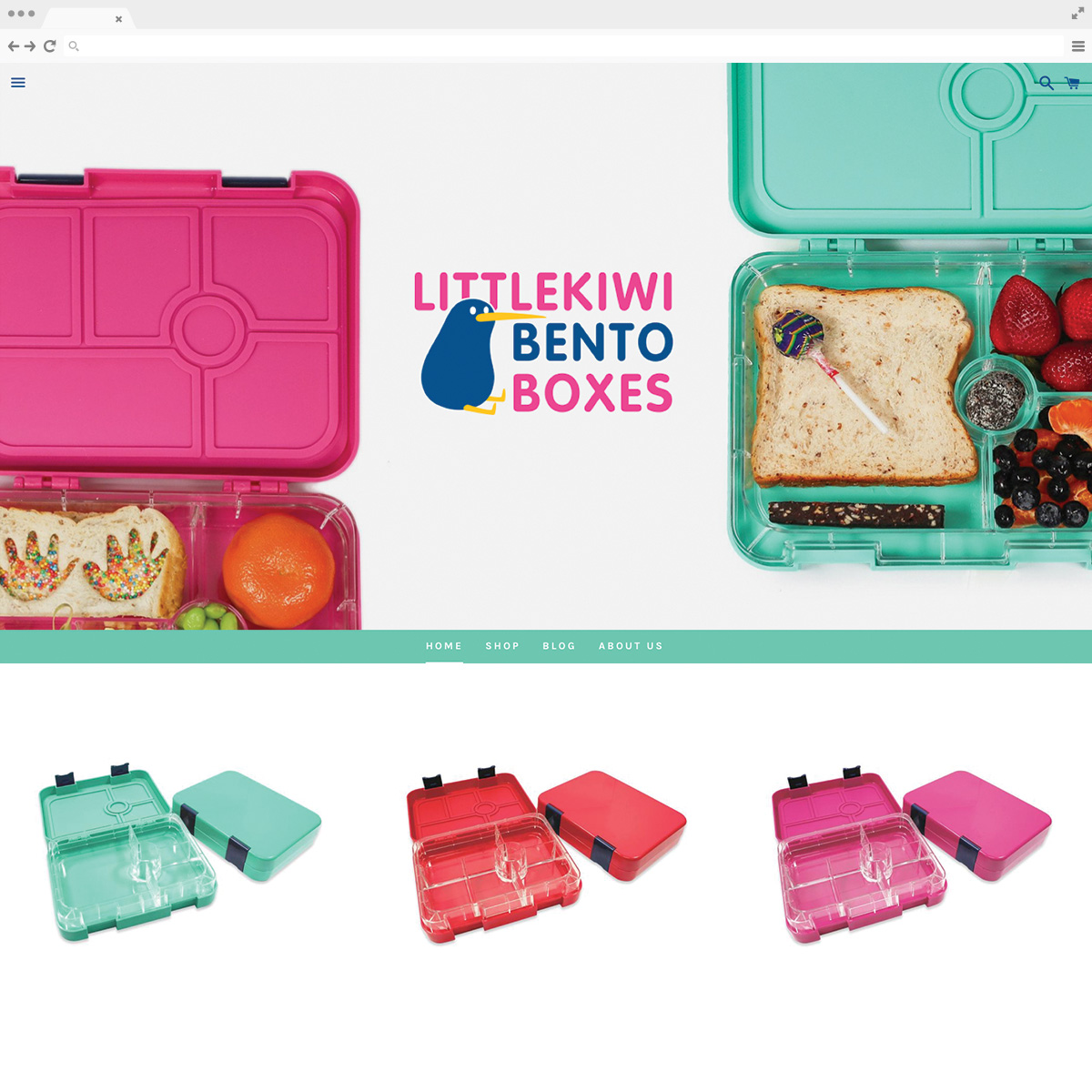 LittleKiwi Bento Boxes