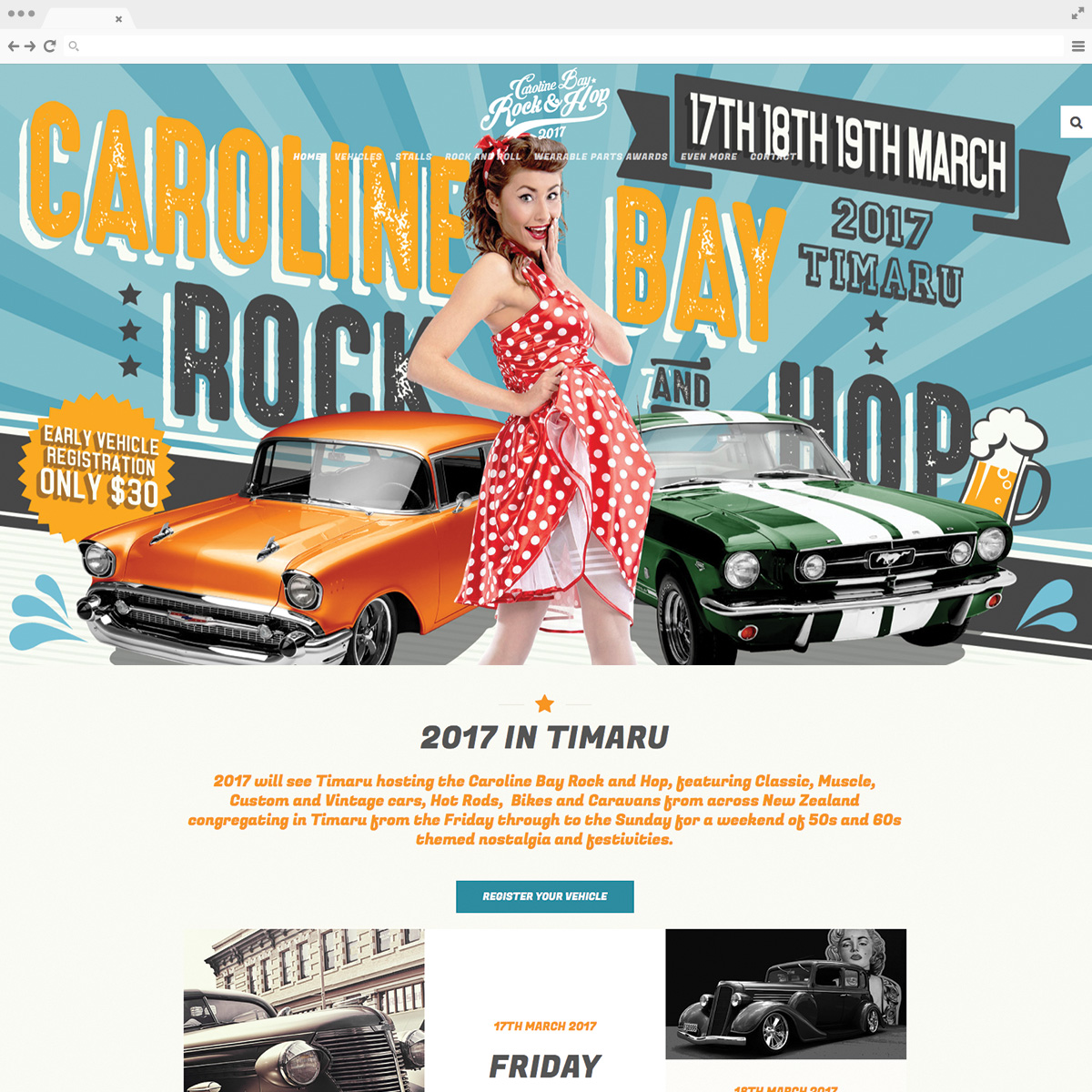 Caroline Bay Rock & Hop